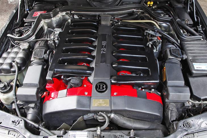 Zweimal Brabus E V12