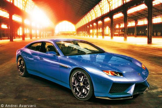 Lamborghini Estoque Illustration
