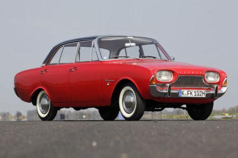 Mittelklasse Wagen Der 60er Ford 17m P3 Autobild De