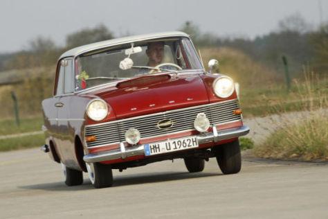 mittelklasse-wagen der 60er: opel rekord p2 - autobild.de