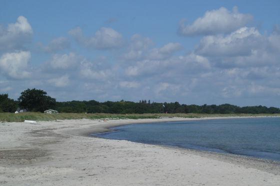Insel Mön in Dänemark