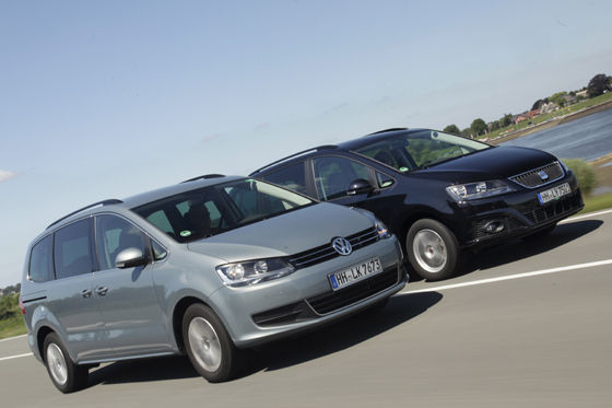 Video: Seat Alhambra vs. VW Sharan