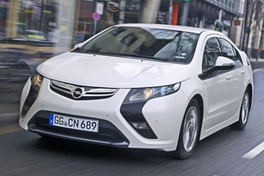 Unterwegs im Opel-Stromer