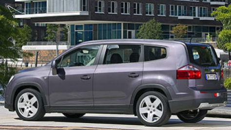 Chevrolet Orlando Autobild