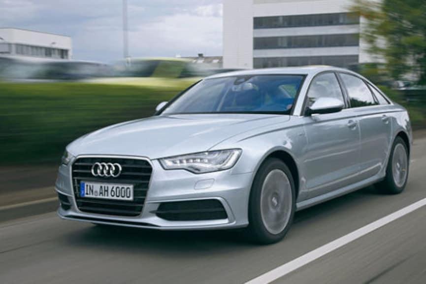 Erste Fahrt im Öko-Audi