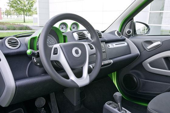 Smart fortwo electric drive IAA 2011
