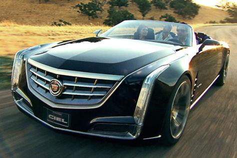 Cadillac Ciel Concept Iaa 2011 Autobild De