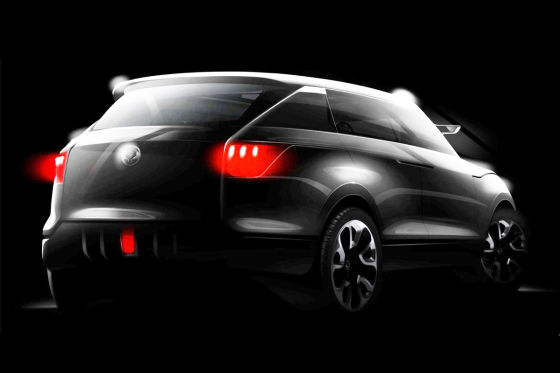SsangYong XIV-1 Concept Studie