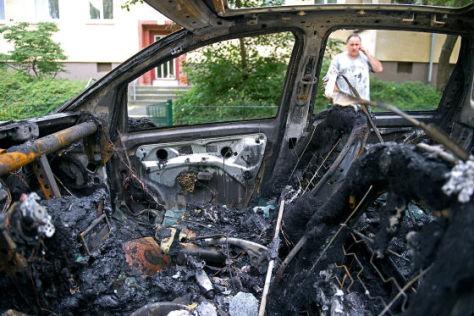 Bundespolizei gegen Brandstifter