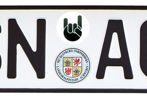 Autokennzeichen ohne AU-Plakette