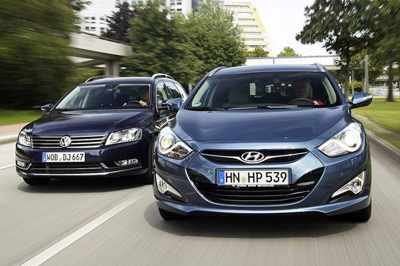 Video: VW Passat vs. Hyundai i40