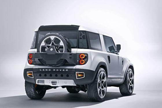 Land Rover Defender DC100 Studie