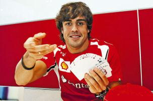 Alonso setzt auf Vettel