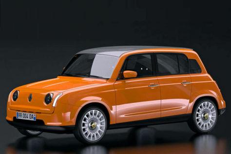 Renault 4: Design-Entwurf - autobild.de
