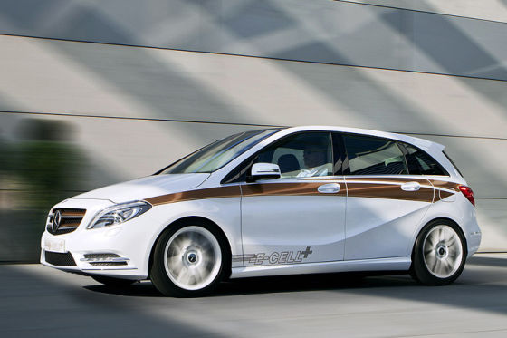 Mercedes B-Klasse E-Cell Plus