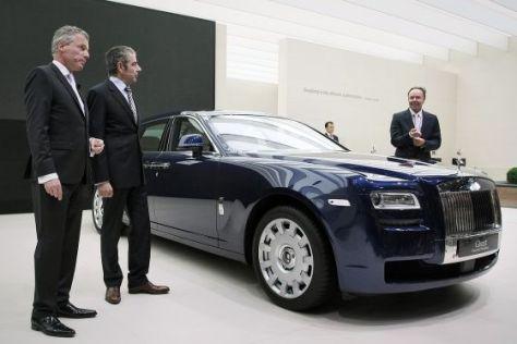 Der Rolls-Royce Phantom Coupé auf der IAA