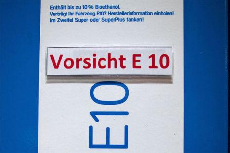 E10-Preisaufschläge: Kartellamt bleibt ruhig