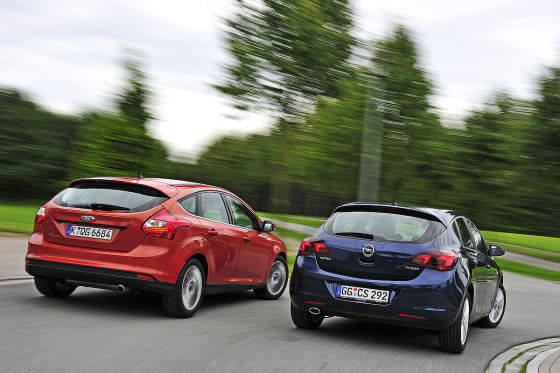 Ford Focus Opel Astra