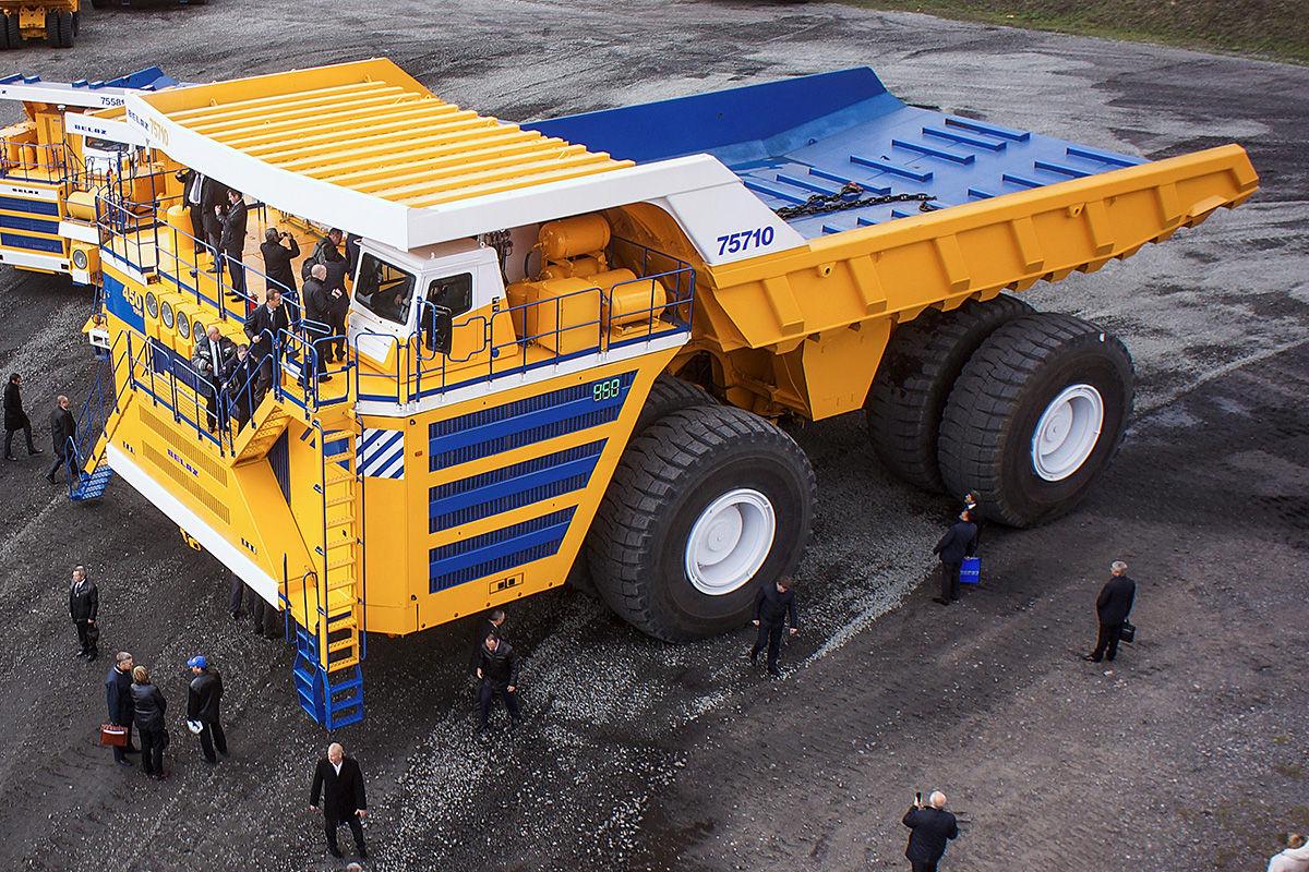 Die größten Minenfahrzeuge