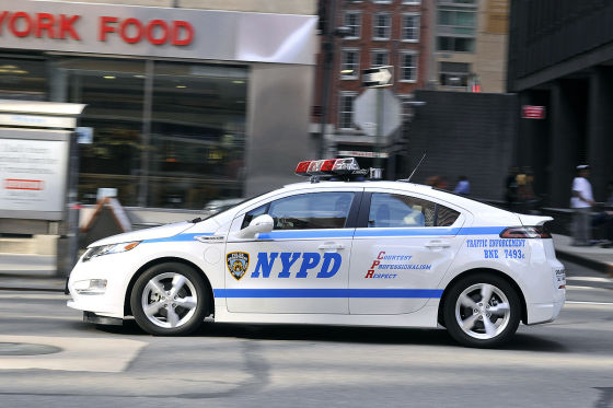 Chevrolet Volt als Polizeiauto in New York