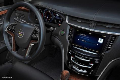 Cadillac CUE-Bedienkonzept