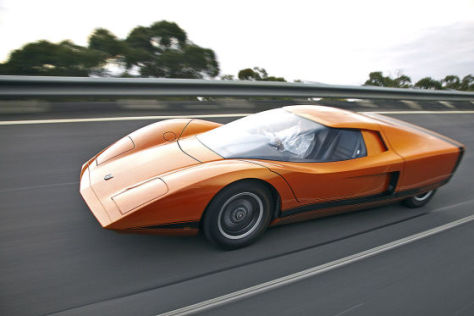 Holden Hurricane Concept Car GM Australien 1969  restauriert