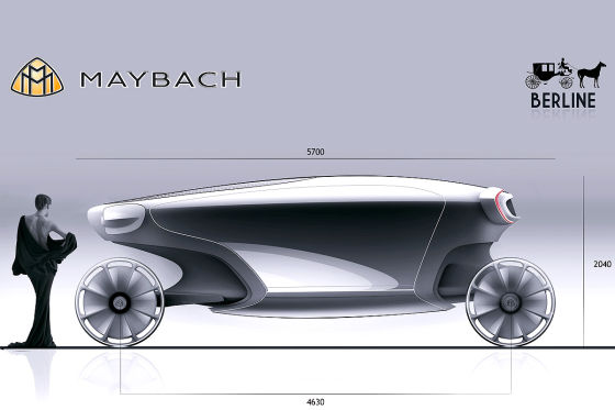 Maybach Berline für die Design Challenge 2011