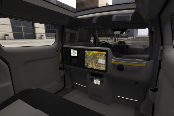 Nissan NV200 als New York Taxi