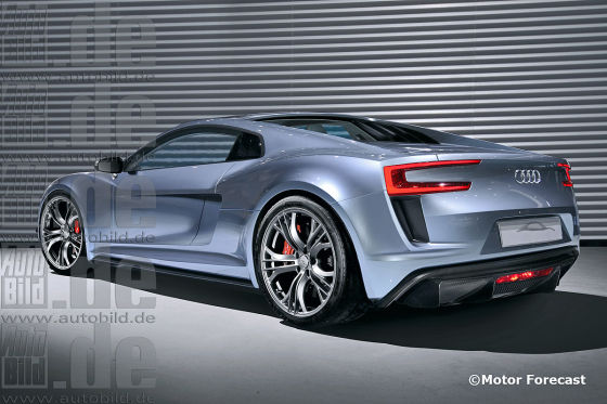 Audi R8 Illustration