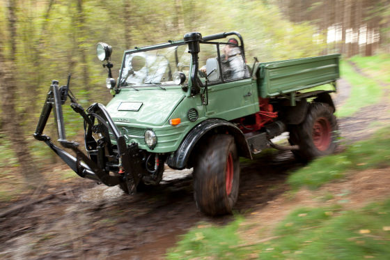 Happy Birthday! 70 Jahre Unimog