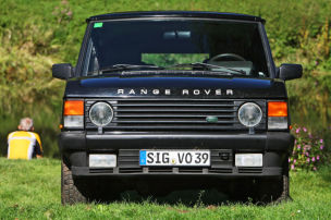 Luxuriöser Land Rover