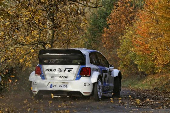 Erster Einsatz für den Rallye-Polo
