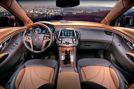 Buick Lacrosse Gl Concept Auf Der La Auto Show 2011 Autobild