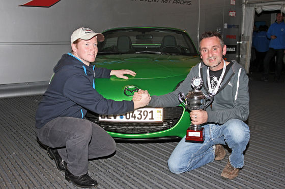 Schlag den Kelly bei der Mazda MX-5 Challenge 2011