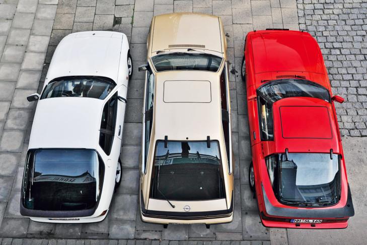 Porsche 924 Opel Monza Mazda RX-7
