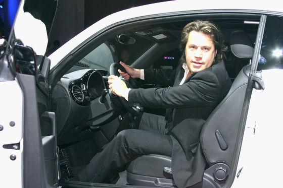 Boris Pieritz im VW The Beetle
