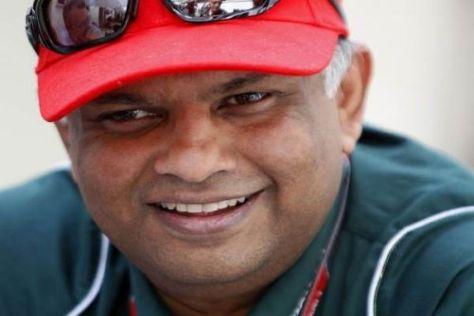 Tony Fernandes hat gut lachen: Sein Team verfügt nun über mehr Geld