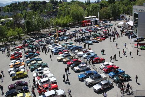 Buntes Teilnehmerfeld: Zugelassen sind Autos bis Erstzulassung 1990.