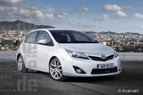 Toyota Auris Comeback Als Corolla Autobild De