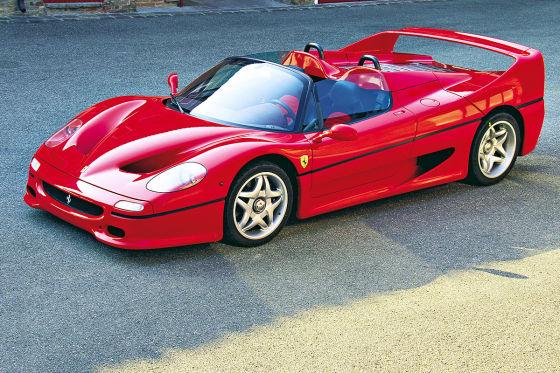 Italiener und Franzosen der 90er: Ferrari F50