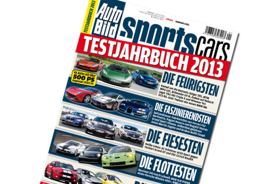 Sportscars Testjahrbuch 2013
