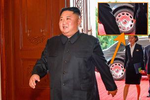 Kim reist jetzt im Rolls