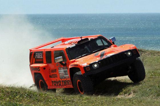 Rallye Dakar 2012 Hummer H3