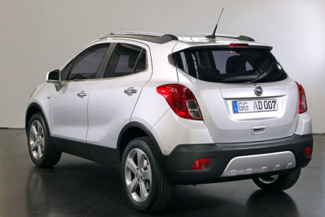 Opel Mokka: Wie sitzt es sich im neuen Mini-SUV? - autobild.de