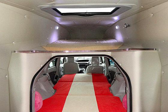 Toyota Prius Camper Conversion