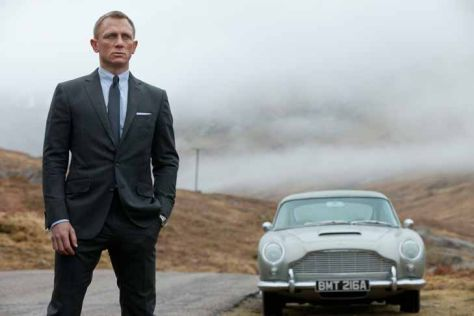 Aston Martin Db5 James Bond 007 Skyfall Mit Daniel Craig Autobild De