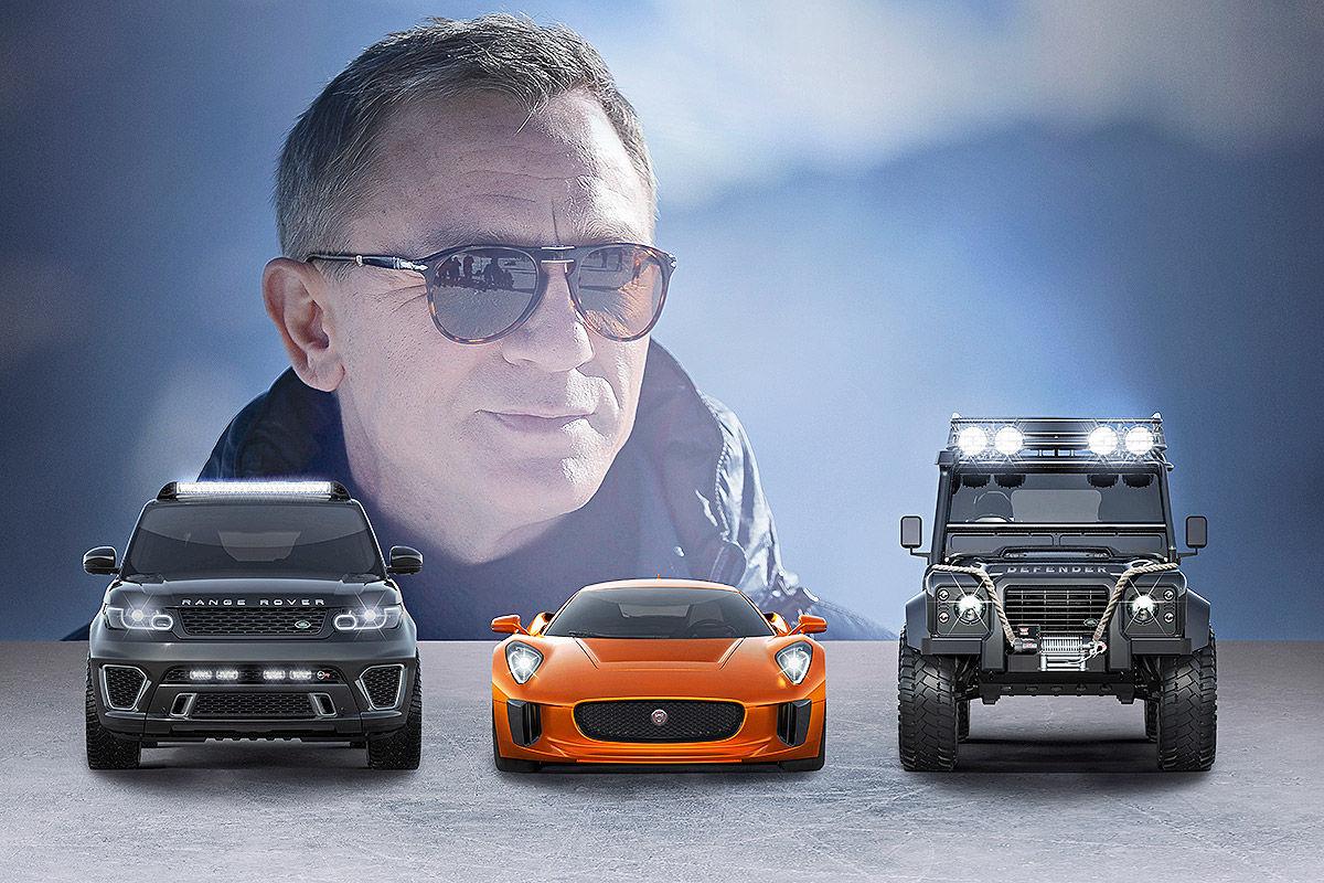 """Die Autos von James Bond """"Spectre"""""""