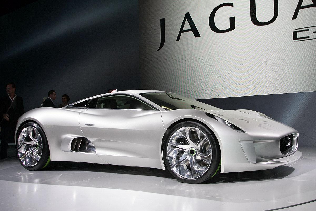 Jaguar C-X75 Autosalon Paris