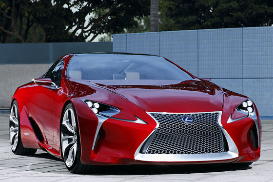 Video: Lexus LF-LC