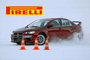 Schnee-Training mit Pirelli